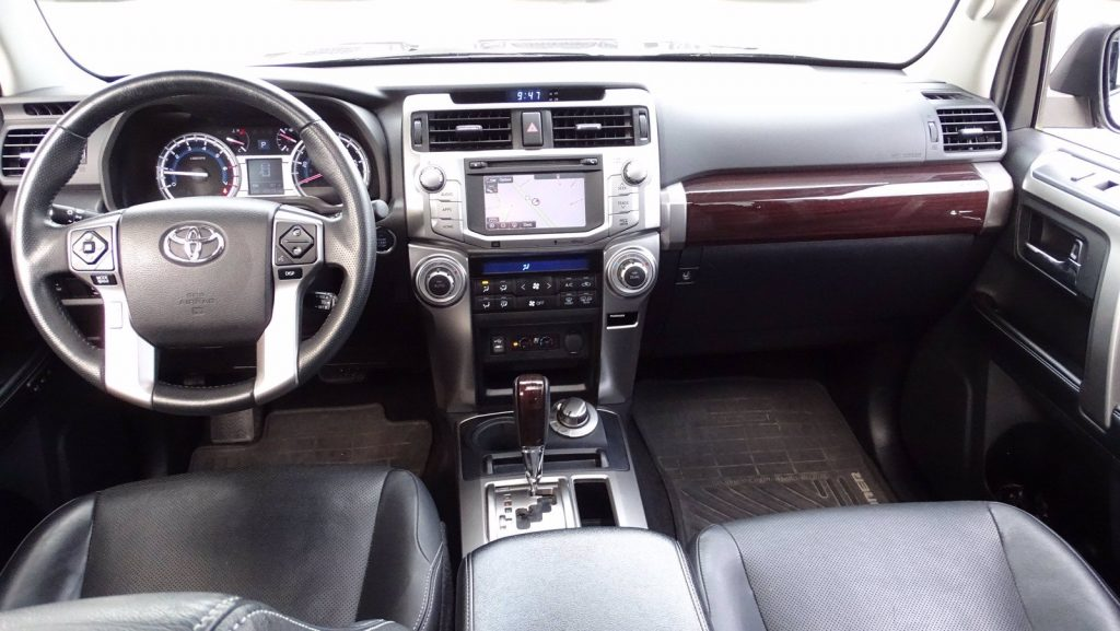The 2015 Toyota 4Runner has a functional and simple car cabin.