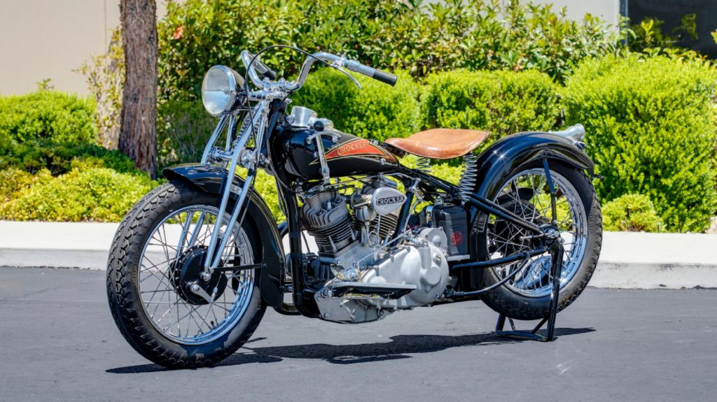 A blue-and-red-tanked 1937 Crocker Small Tank