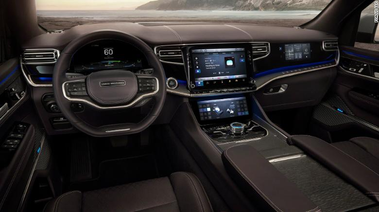 The new Grand Wagoneer will have  infotainment screens for the driver and passenger.