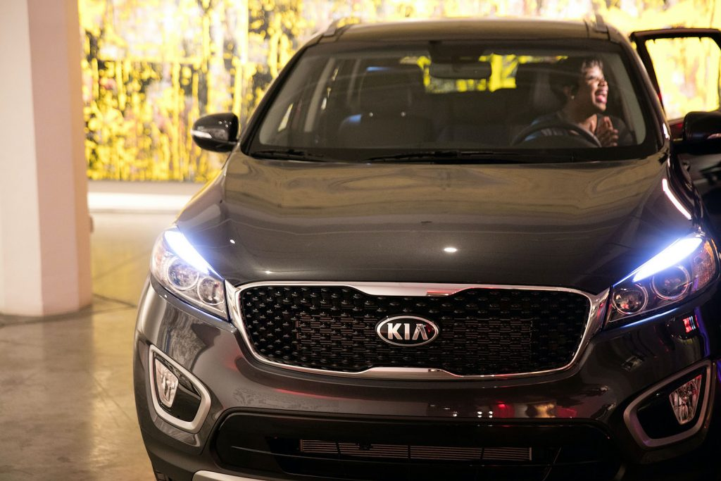 2016 Kia Sorento at an event