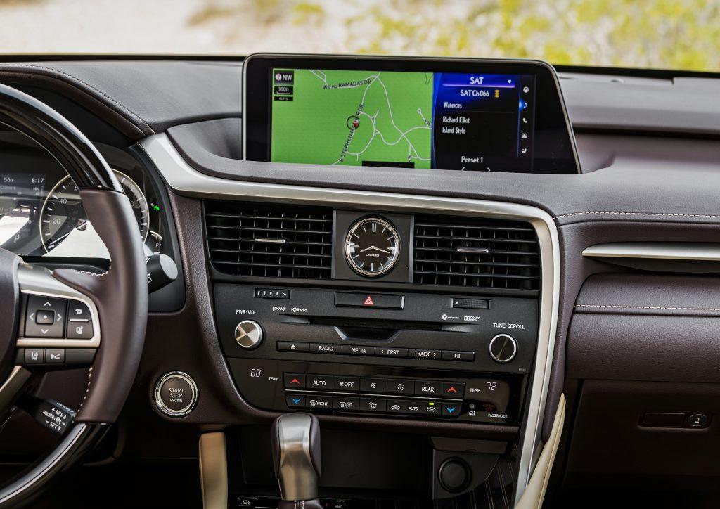 2020 Lexus RX 350 12.3-inch infotainment