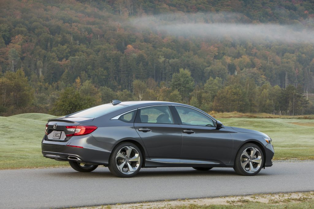 2020 Honda Accord displayed outdoors