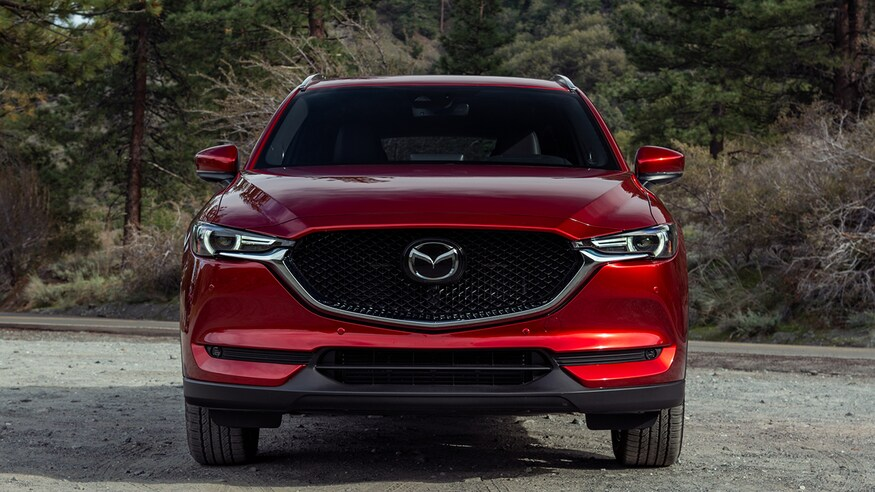 2020 Mazda CX-5 from the front