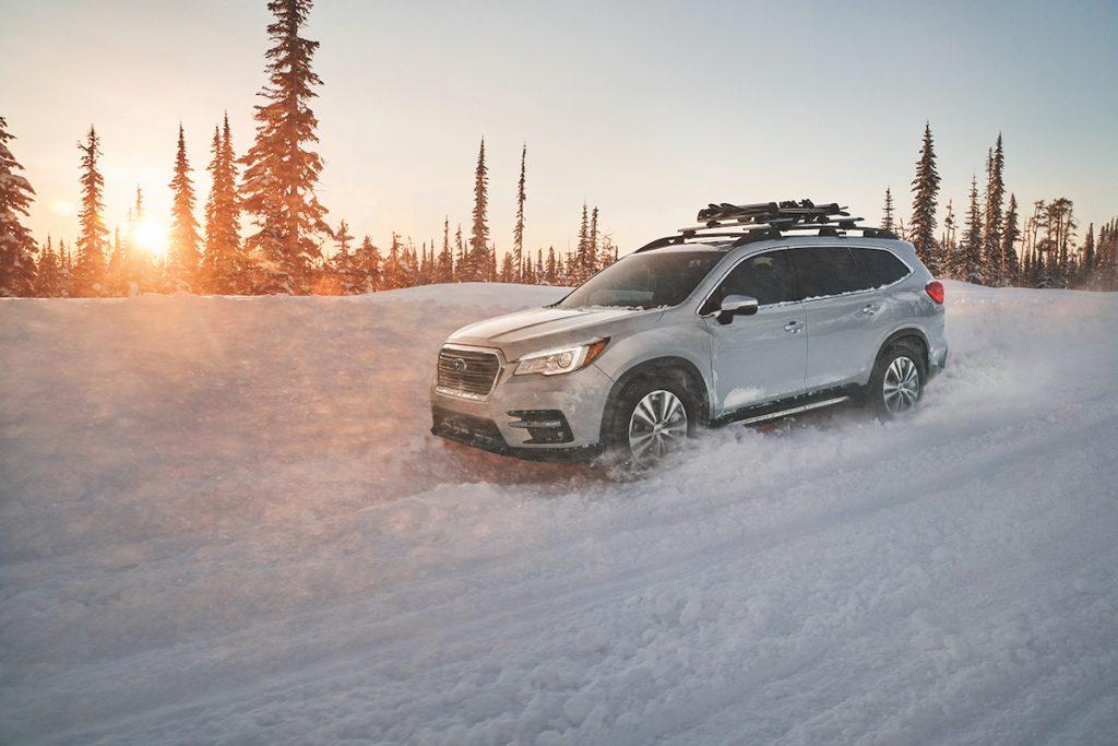 2020 Subaru Ascent in the snow