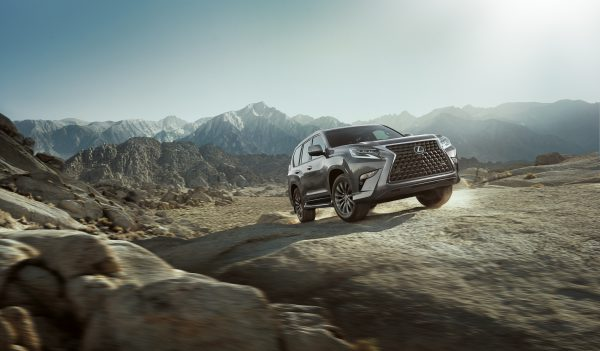 a 2020 lexus GX 460 off-road