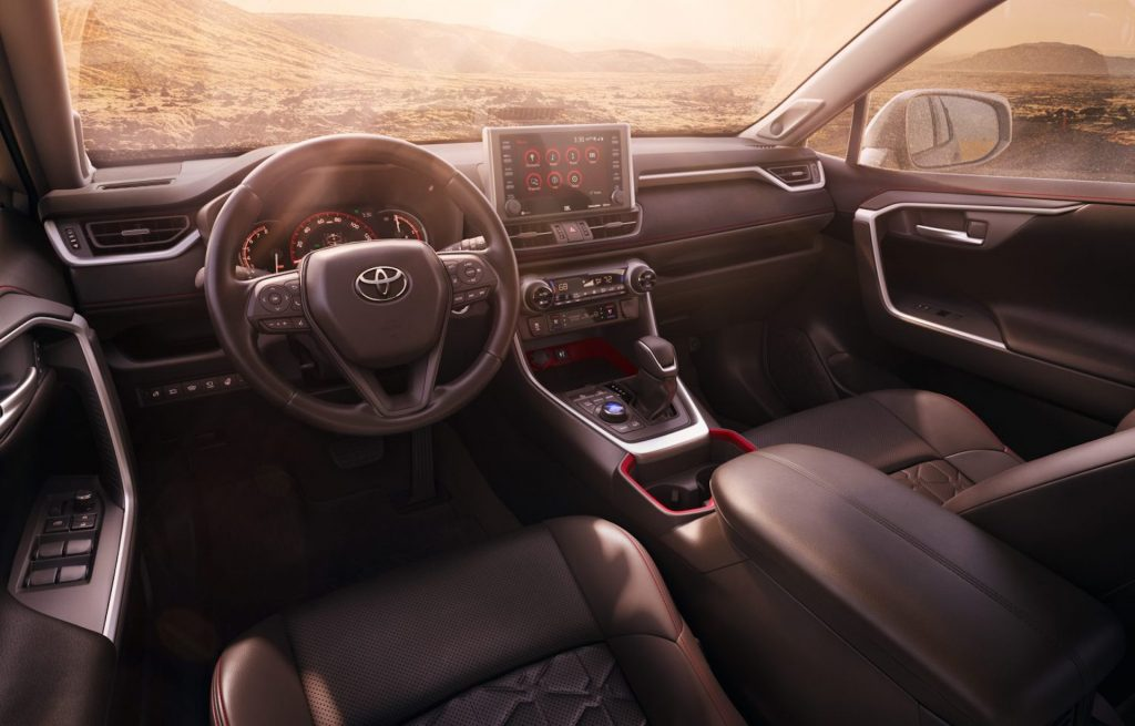 The Rav4 is Toyota's family crossover, with a favorable safety rating, an efficient engine, and a reasonable price, it is a major seller for the brand.