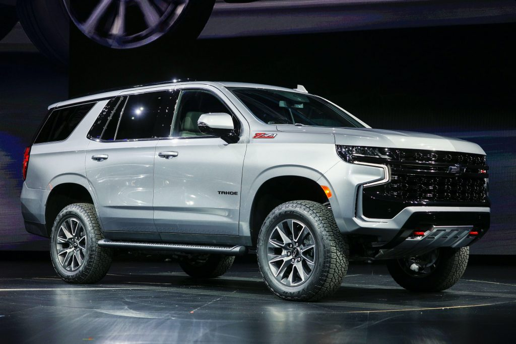 Photo of the 2021 Chevy Tahoe