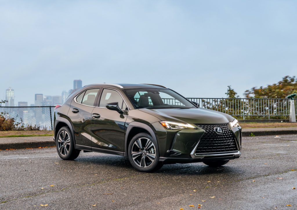 The Lexus UX is the brand's entry-level luxury SUV.