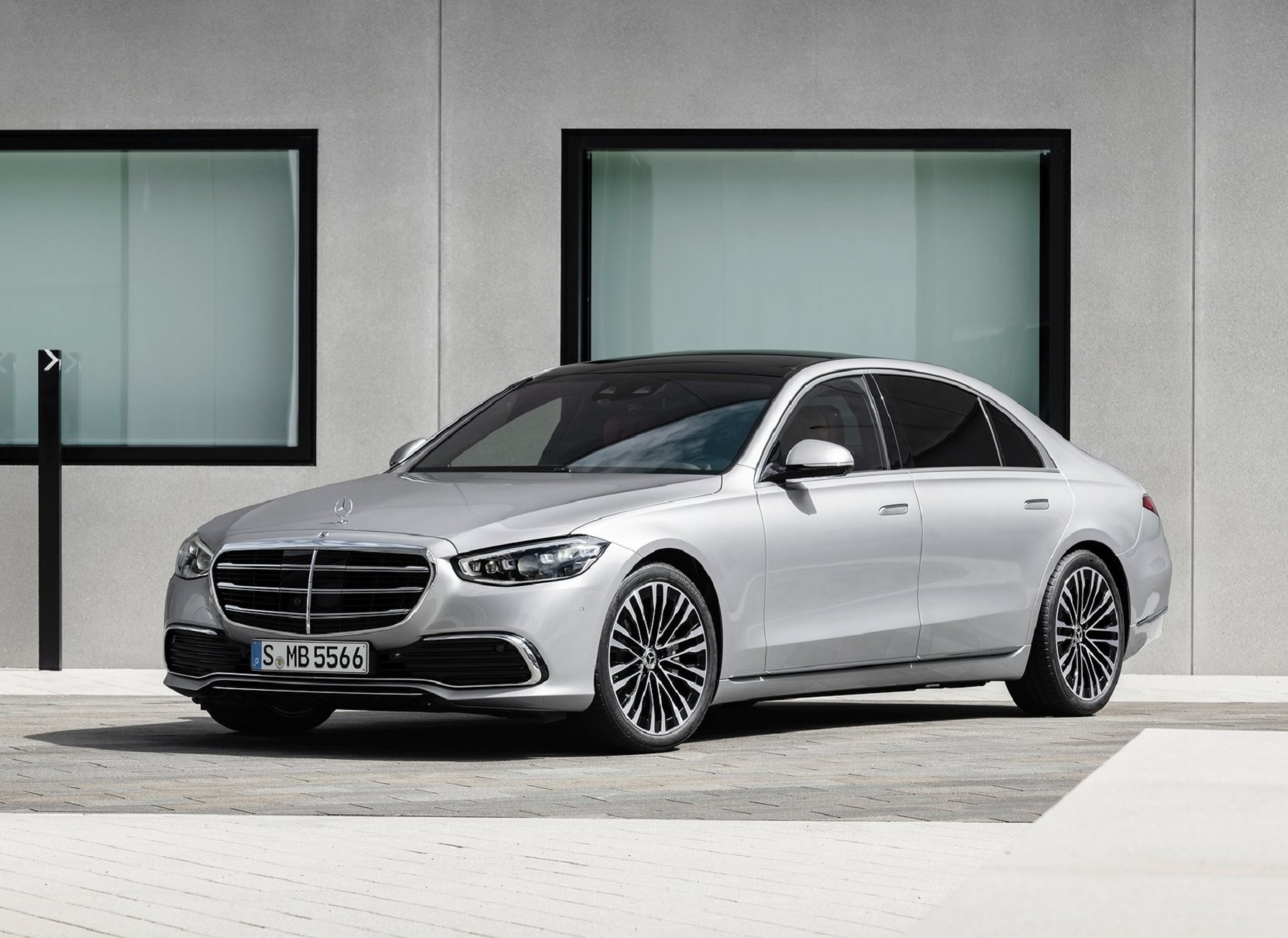 is the 2021 mercedesbenz sclass really a new standard in