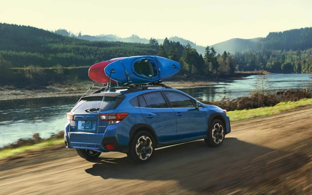 2021 Subaru Crosstrek off-roading
