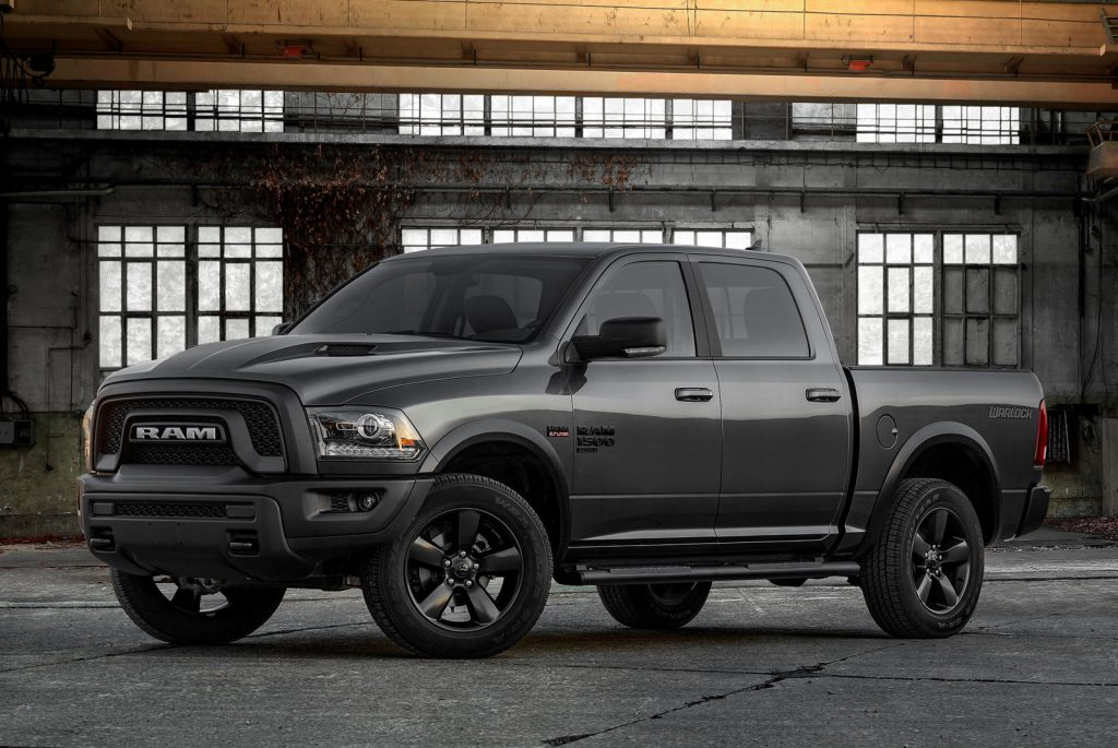 2019 Ram 1500 Classic Warlock on display