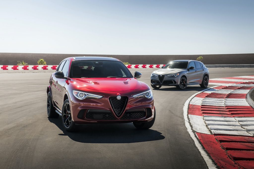 The Alfa Romeo Stelvio Quadrifoglio is a super SUV with a Ferrari engine.