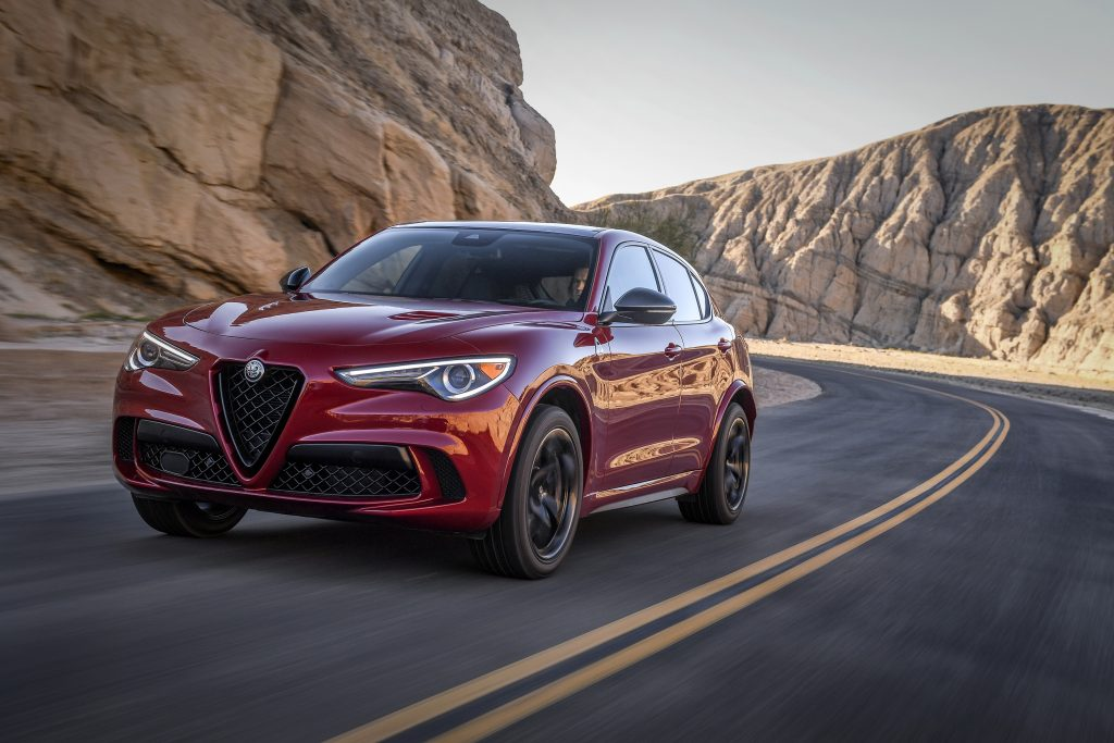 The Alfa Romeo Stelvio is the only SUV for sale by the brand and despite an attractive design, it does not sell well.