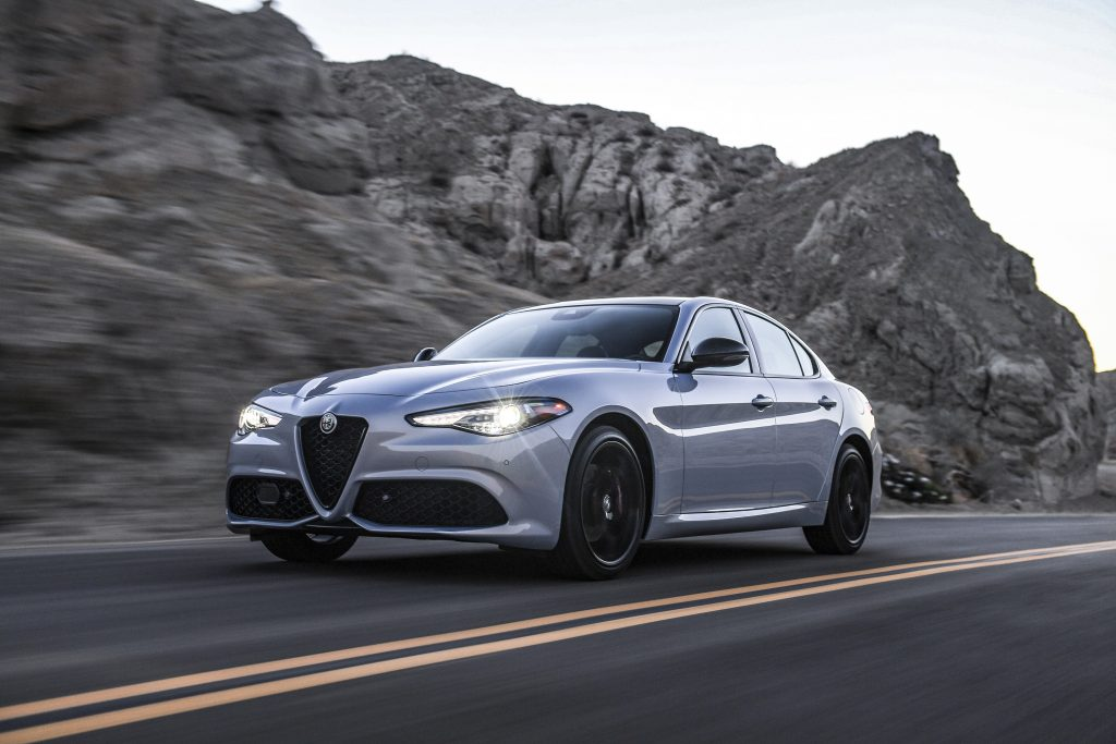 The Alfa Romeo Giulia is the only sedan for sale by the brand and despite an attractive design, it does not sell well.