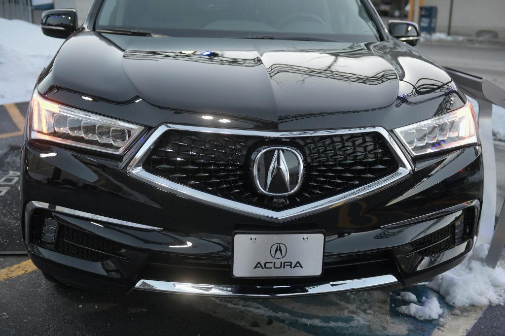 Acura MDX is seen during the 2018 Sundance Film Festival