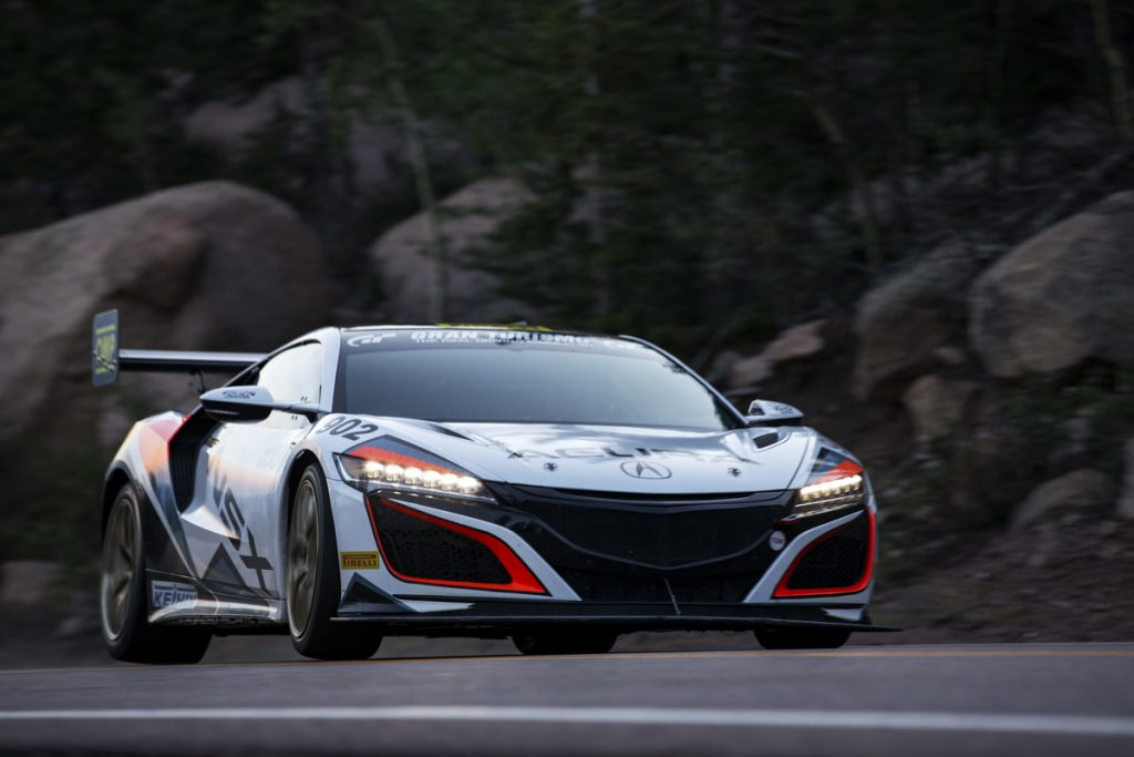 Driver James Robinson sets new Hybrid production car record in his 2019 NSX