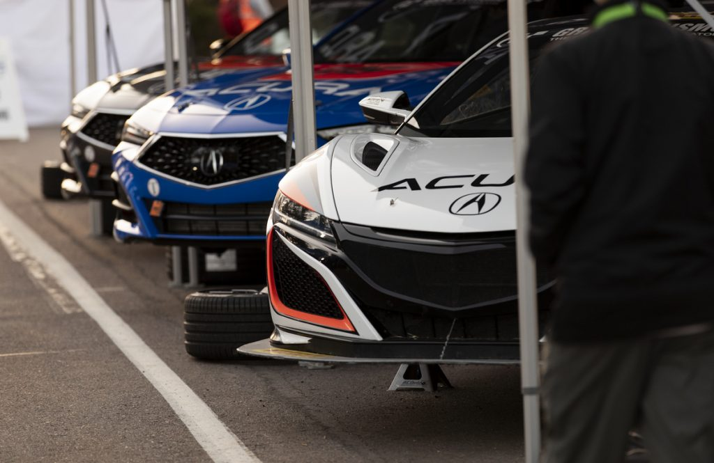The 2020 Acura Pikes Peak competitive entries