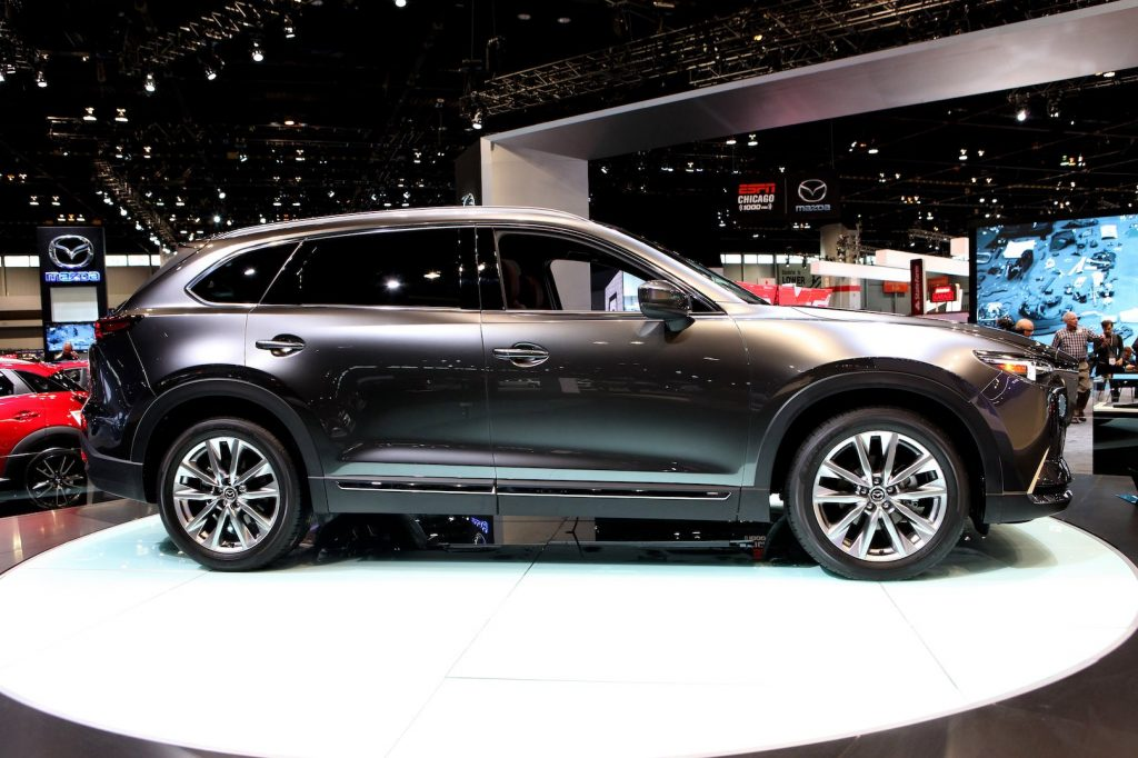 2016 Mazda CX-9 is on display at the 108th Annual Chicago Auto Show