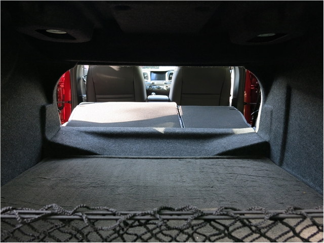 trunk of the Chevy Impala