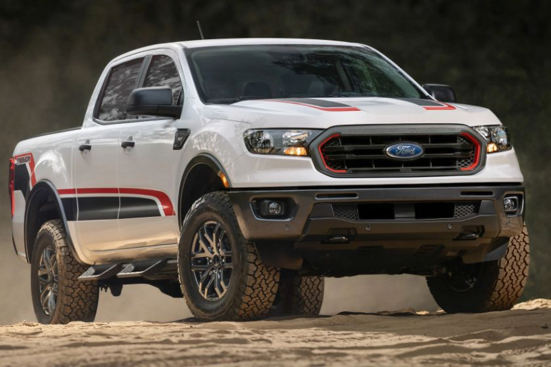 2021 Ford Ranger with Tremor package