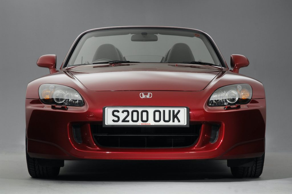 The Honda S2000 was Honda's two seat roadster sports car.