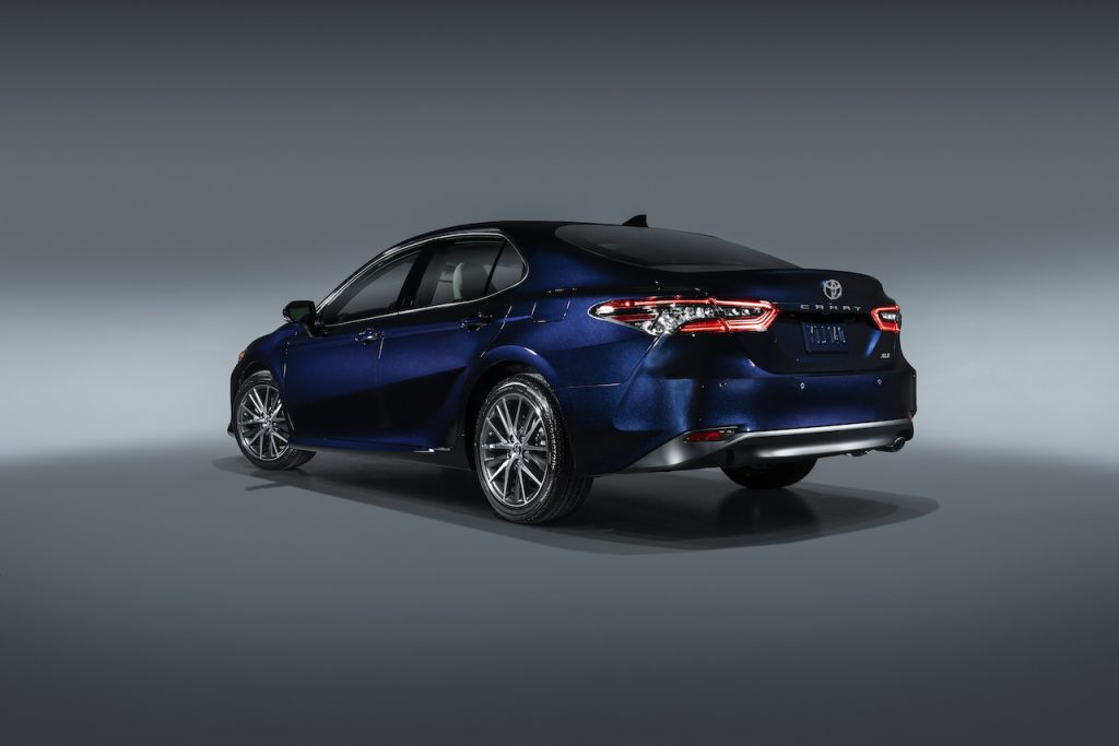 The Camry is one of Toyota's best selling vehicles thanks to its affordable and reliable design.