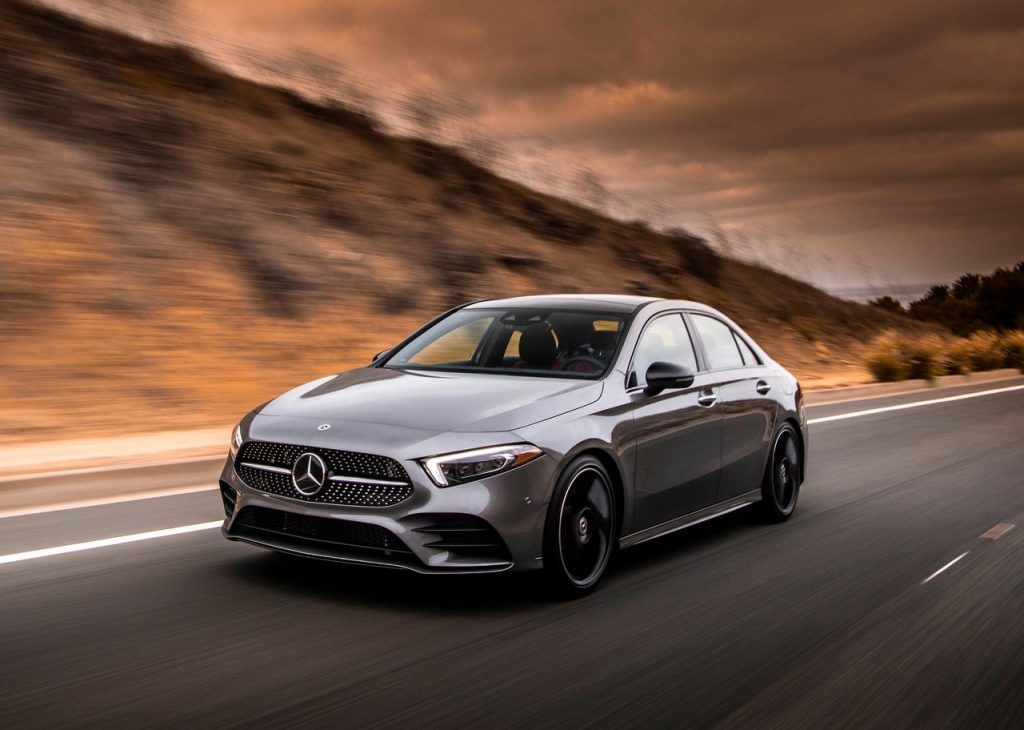 The Mercedes-Benz A-Class is the cheapest new car available from the brand.