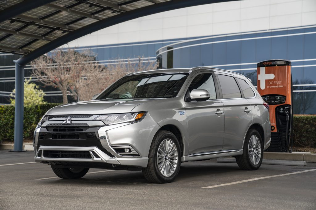 Mitsubishi Outlander PHEV ready to charge