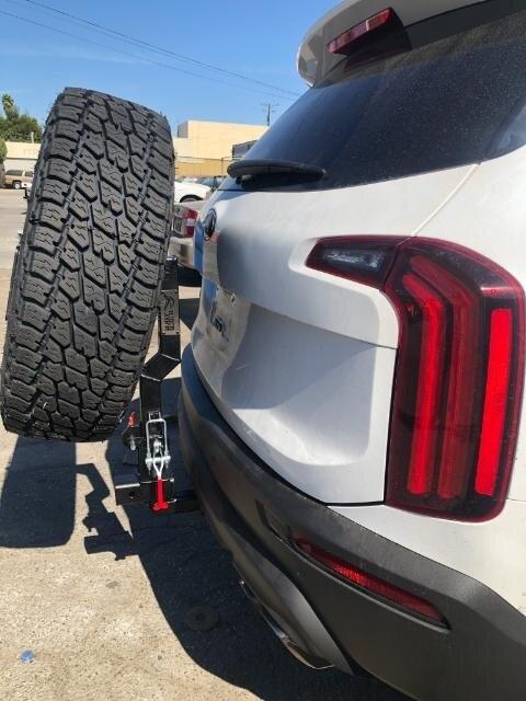 Rigid Armor Kia Telluride spare tire carrier | Rigid Armor