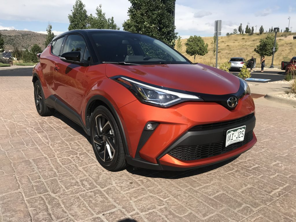 2020 Toyota C-HR front shot