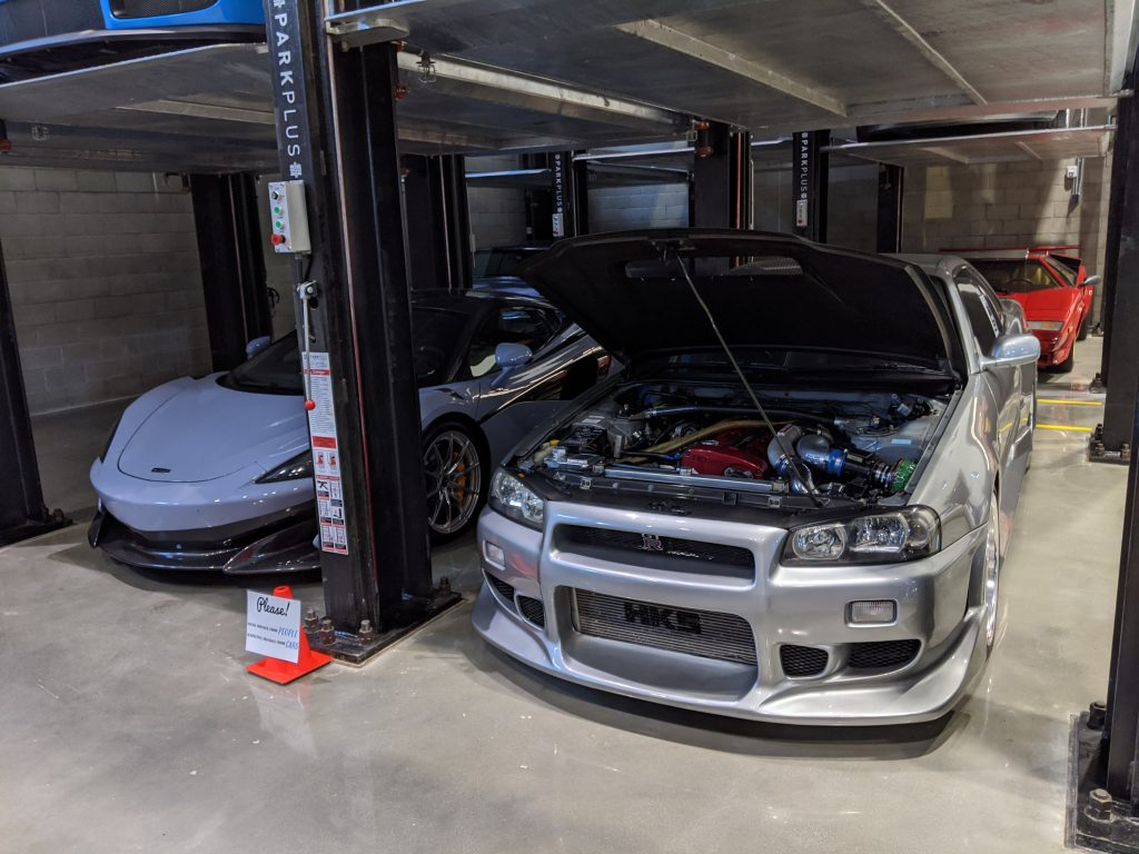 A Paul Walker R34 GT-R Stored at the WCCS Facility |