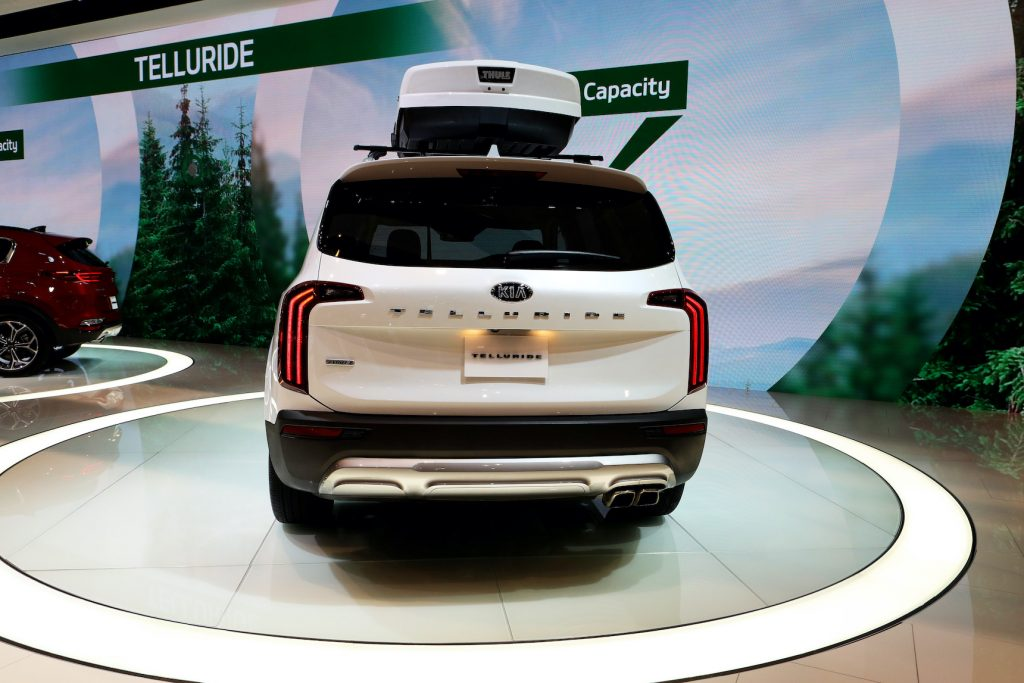 2019 KIA Telluride is on display at the 111th Annual Chicago Auto Show