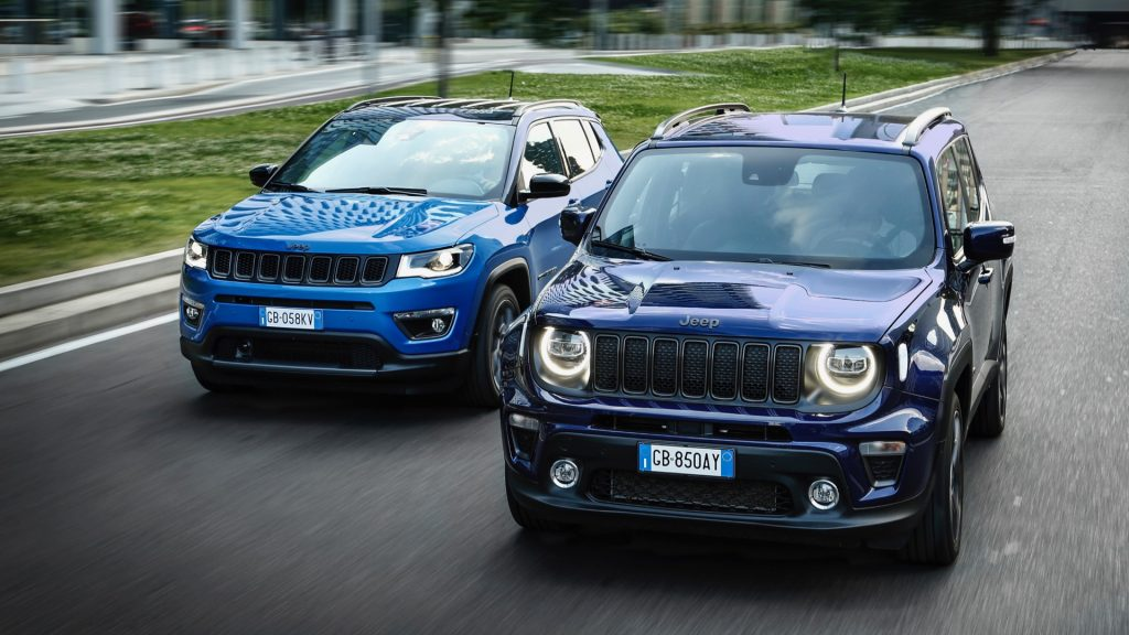 The Plug-In Hybrid Jeep Compass and Renegade
