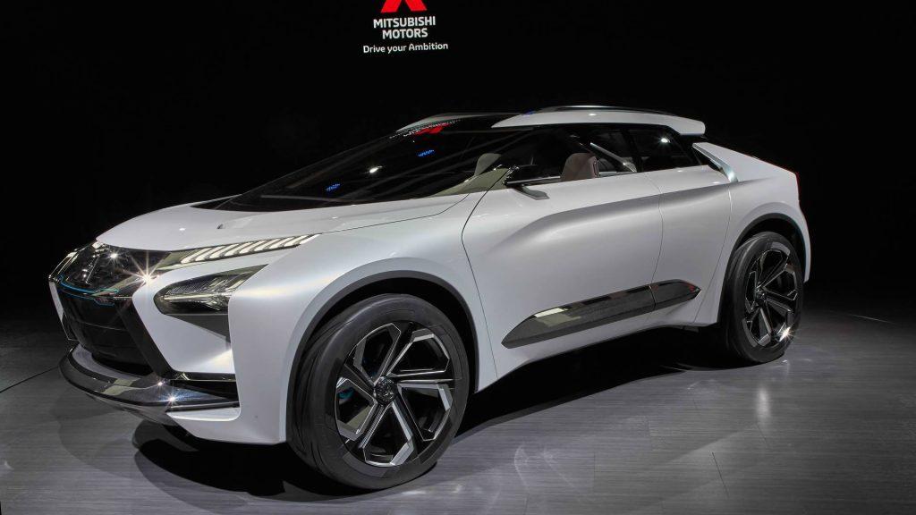 2017 Mitsubishi e-Evolution Concept on display