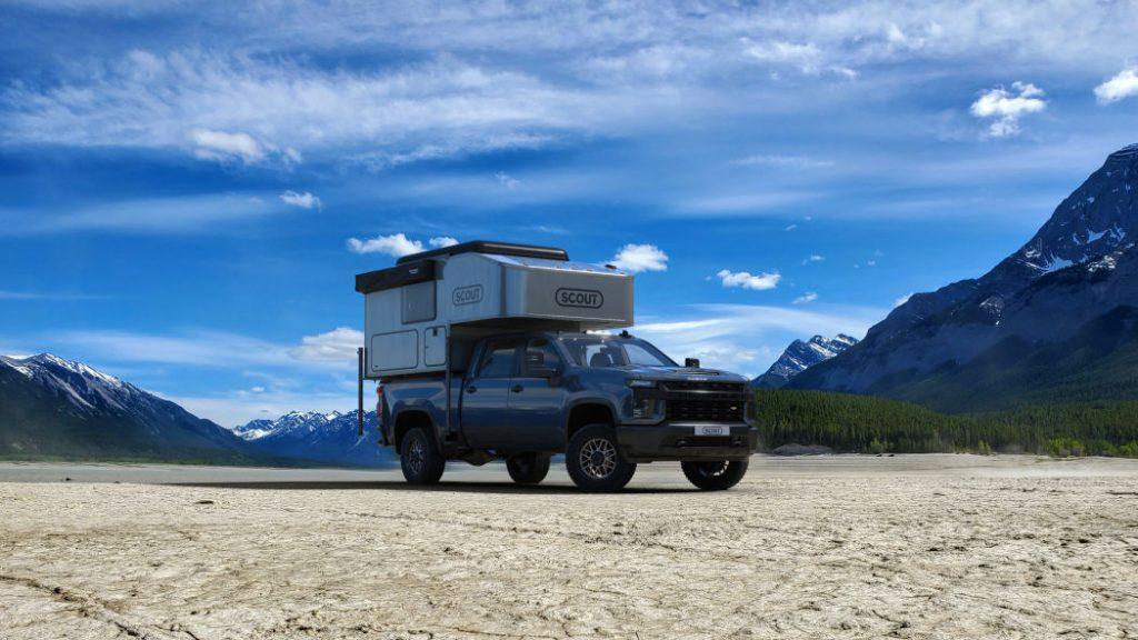 Scout Kenai Camper on truck