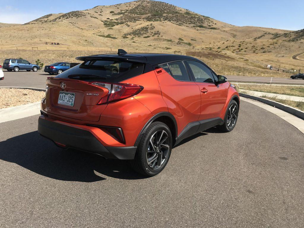 2020 Toyota C-HR rear shot