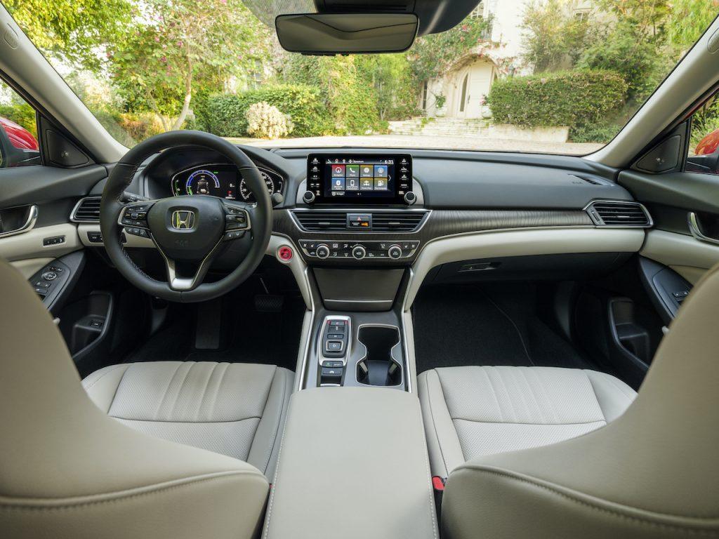 The 2021 Honda Accord is the brand's midsize sedan.