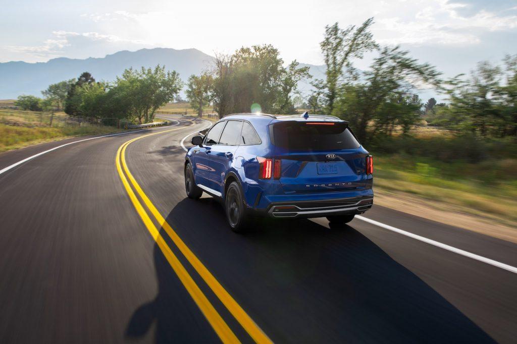 The 2021 Kia Sorento is the brand's newest SUV.