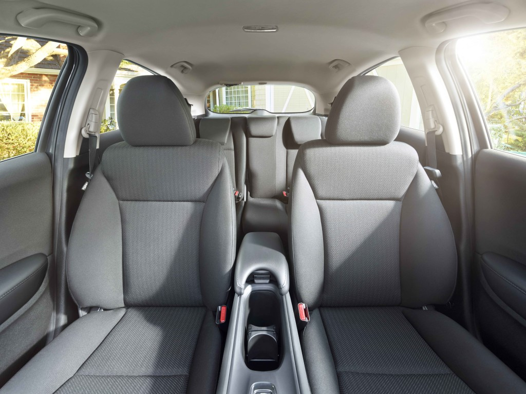A full view of the 2017 Honda HR-V's interior.