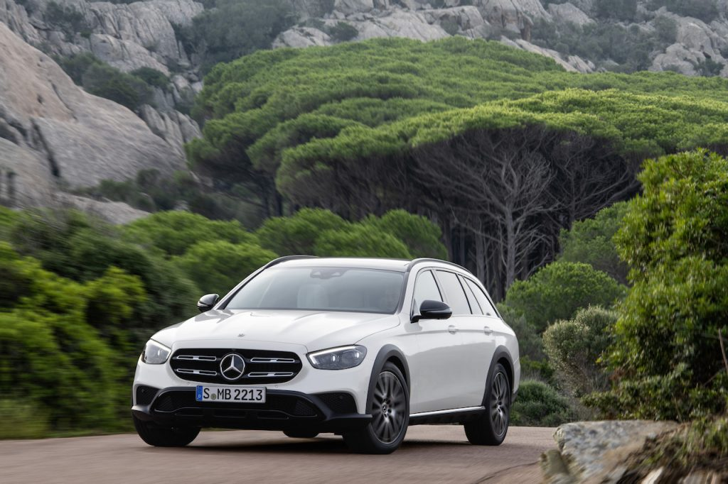 The E-Class station wagon is the only Mercedes-Benz wagon available in the U.S.