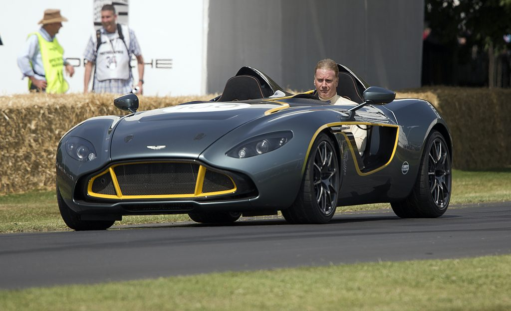 Aston Martin CC100 Speedster Concept The Festival of Speed at Goodwood
