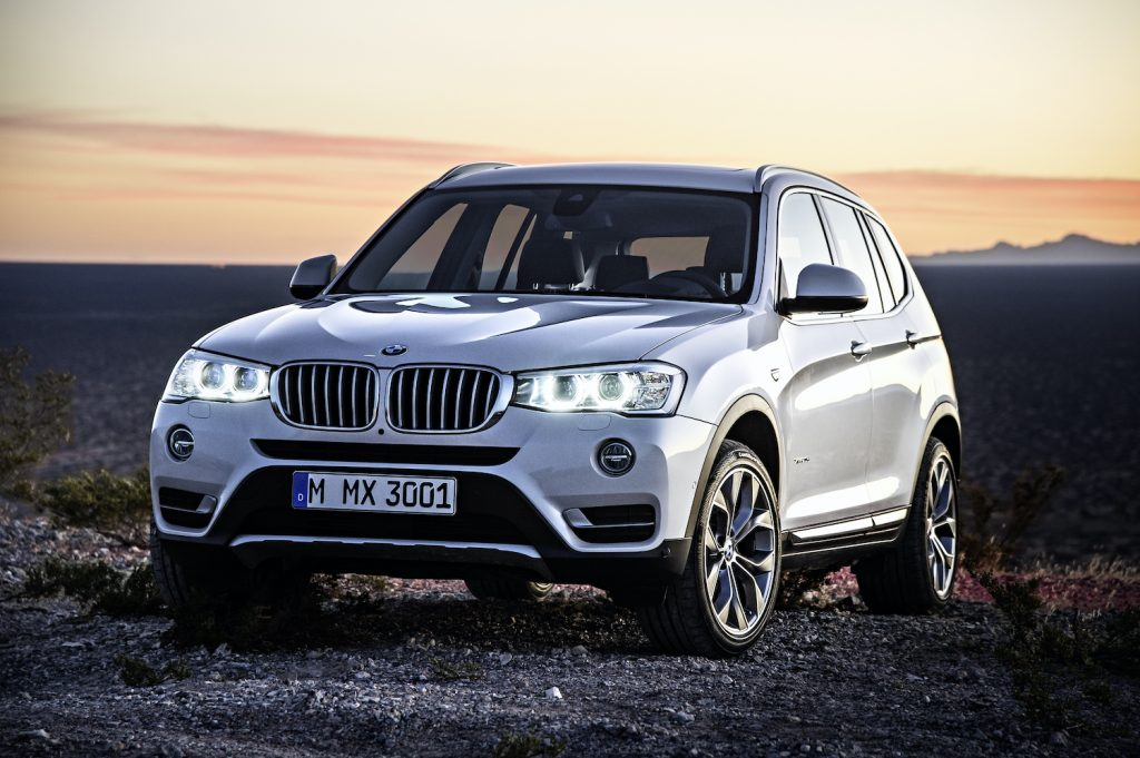 2015 BMW X3 Outdoors