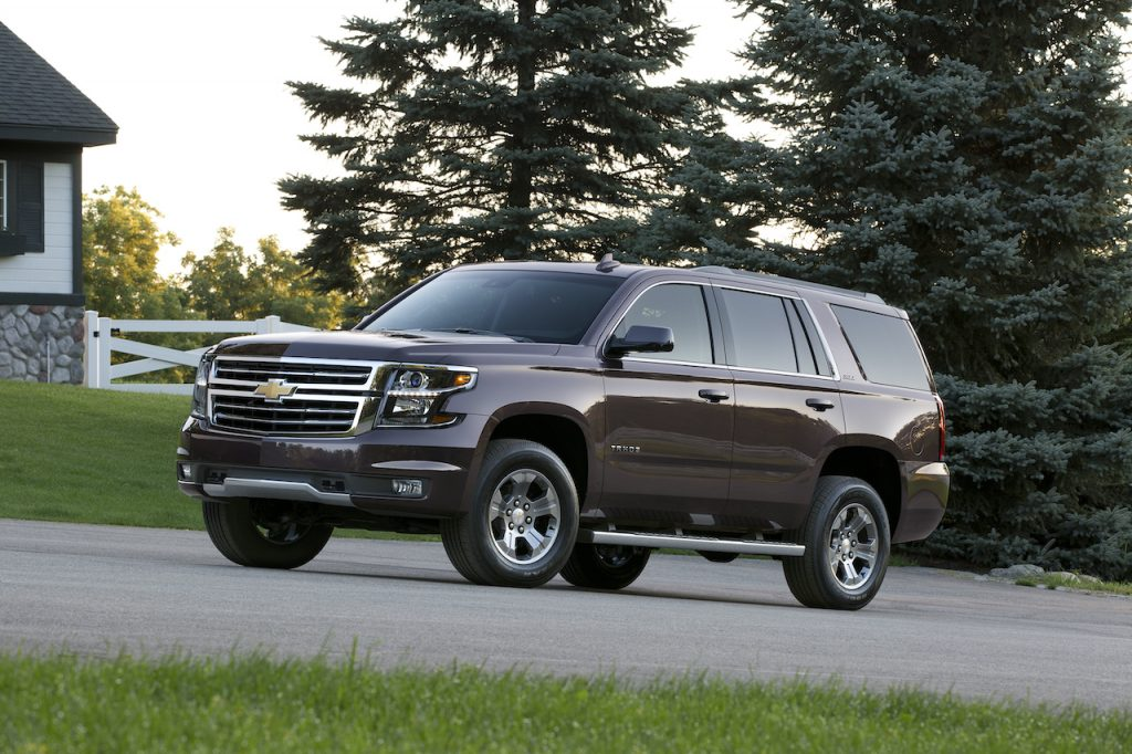 The Chevrolet Tahoe is one of the most reliable large SUVs.