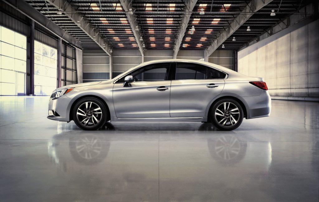 2017 Subaru Legacy parked