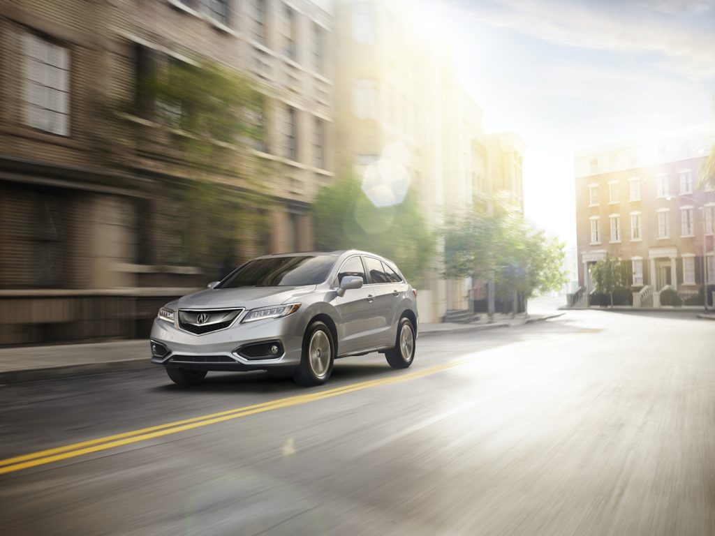 2018 Acura RDX driving
