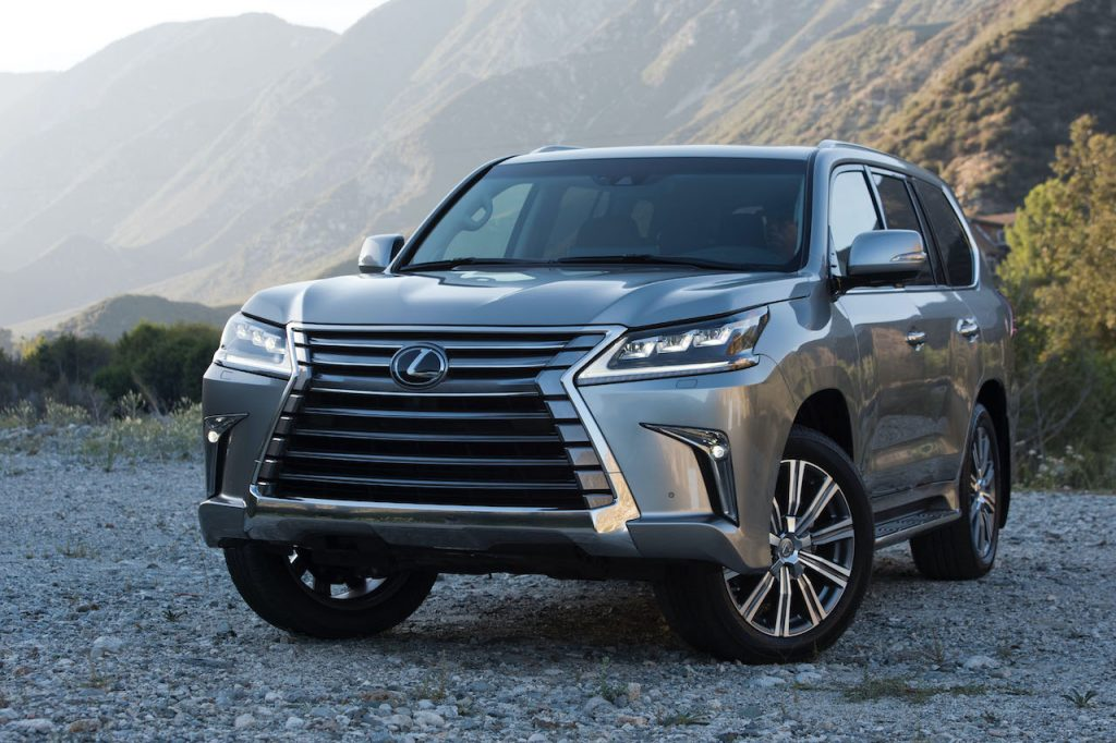 The Lexus LX is one of the most reliable large SUVs.