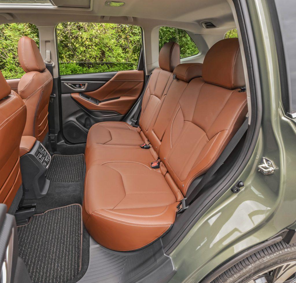 2020 Subaru Forester wide rear door opening