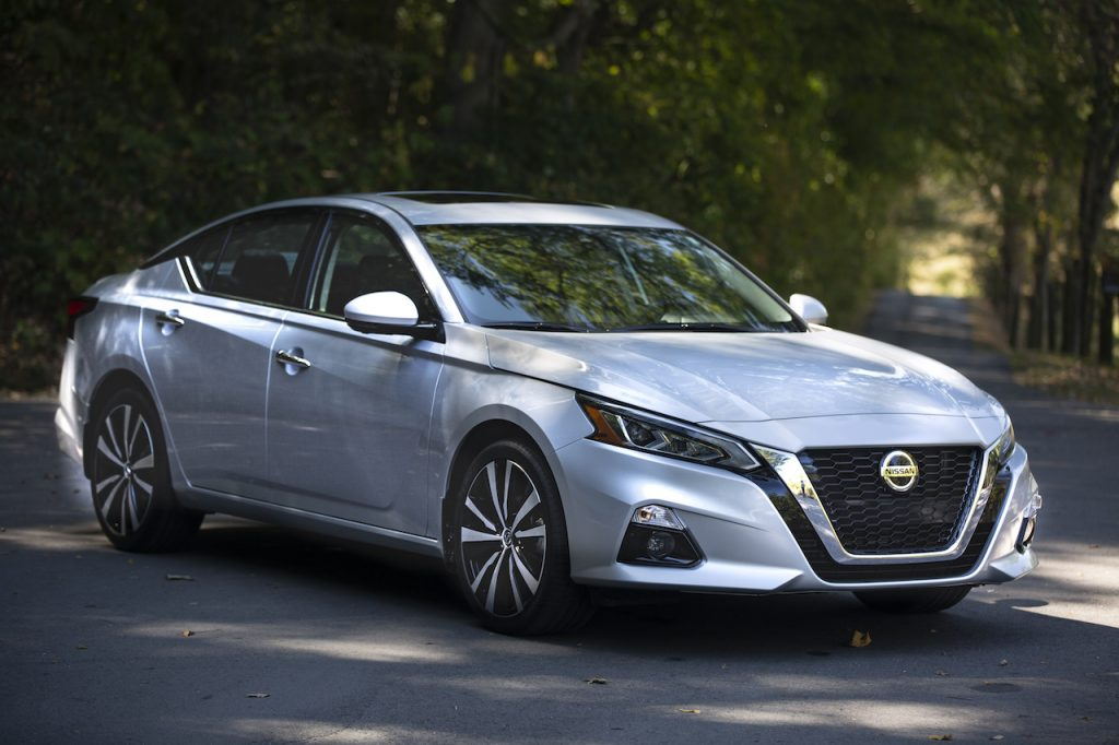 The Nissan Altima is one of the brand's best-selling sedans.