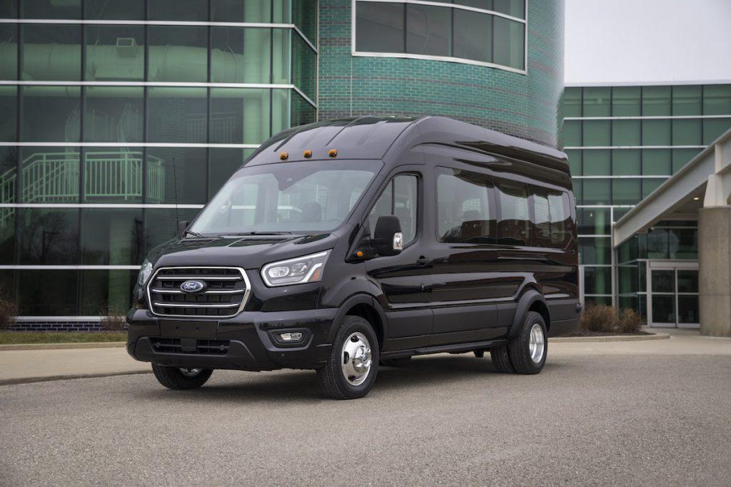 Black 2020 Ford Transit 250