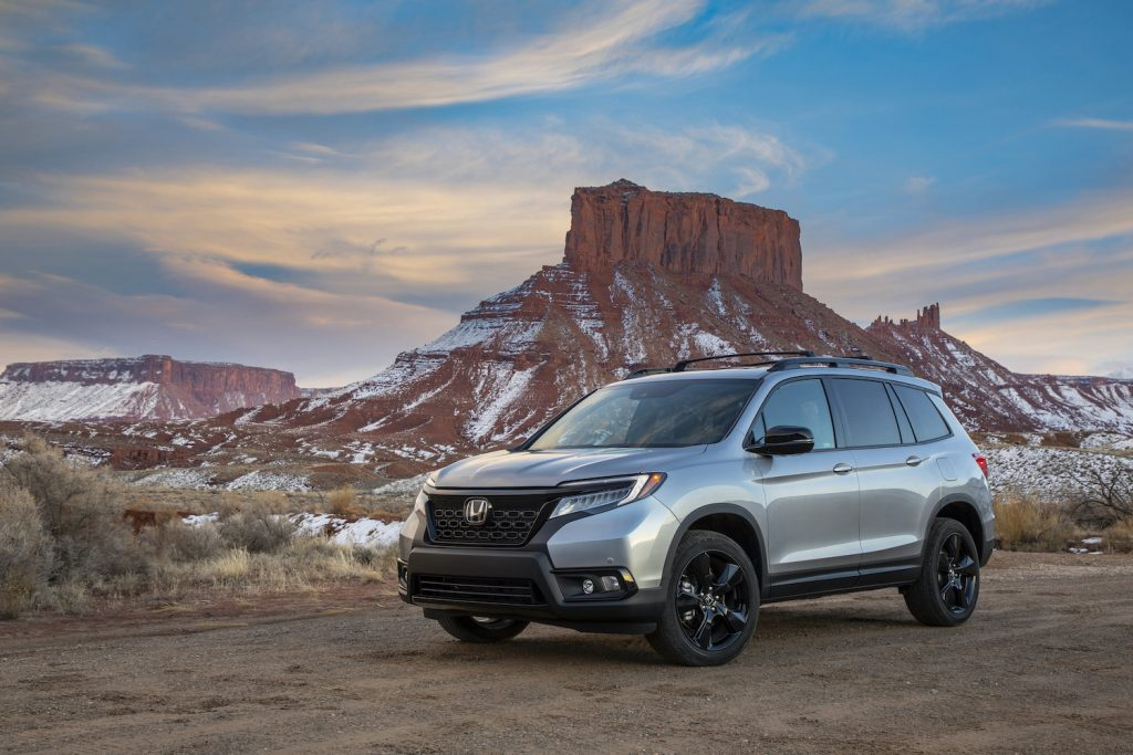 2020 Honda Passport in the wilderness
